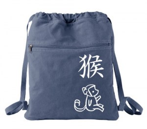 Year of the Monkey Cinch Backpack