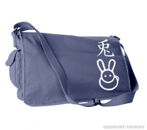 Year of the Rabbit Chinese Zodiac Messenger Bag