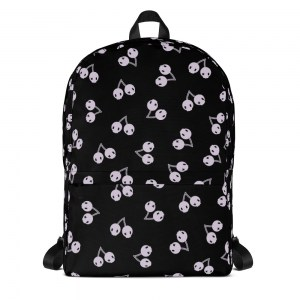Gothic Cherry Skulls Classic Backpack