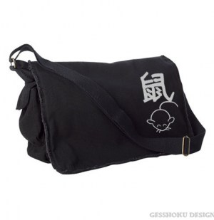 Year of the Rat Chinese Zodiac Messenger Bag