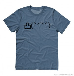 Angry Middle Finger Emoticon T-shirt