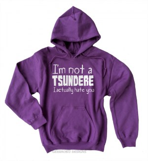 Not a Tsundere Pullover Hoodie