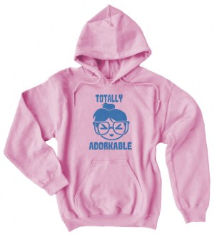Totally Adorkable Pullover Hoodie