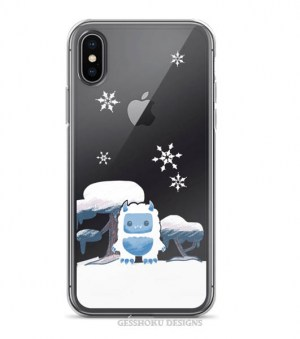 Yeti in the Snow Phone Case for iPhone/Samsung