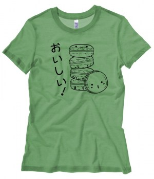 Delicious Macarons Ladies T-shirt