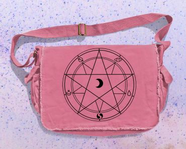 Magic Circle Messenger Bag