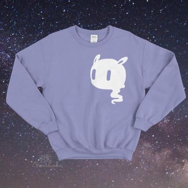 Kawaii Ghost Crewneck Sweatshirt