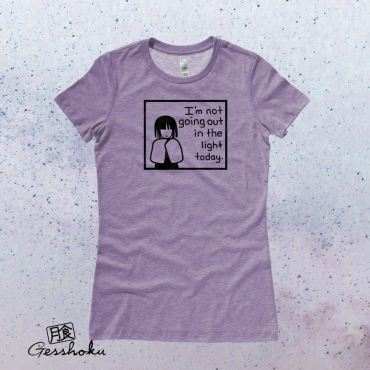 Not Going Out in the Light Ladies T-shirt
