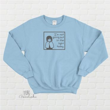 Not Going Out in the Light Crewneck Sweatshirt
