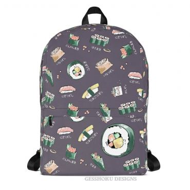 Sushi Menu Classic Backpack with Laptop Sleeve