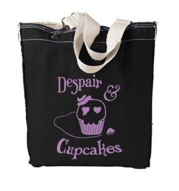 Despair and Cupcakes Designer Tote Bag