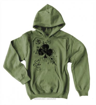 Ace of Clovers Pullover Hoodie