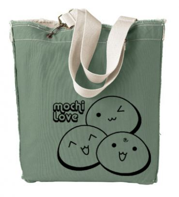 Mochi Love Designer Tote Bag