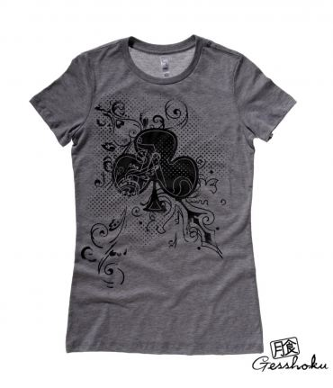 Ace of Clovers Ladies T-shirt