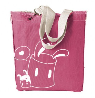 Marshmallow Bunnies Designer Tote Bag