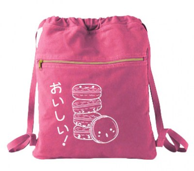 Delicious Macarons Cinch Backpack
